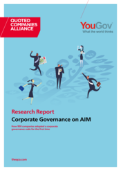Research Report Corporate Governance on AIM
